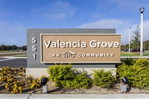HTG - Valencia Grove - Sign